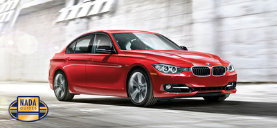 NADAguides Featured Vehicle for August is the BMW 3-Series.  (PRNewsFoto/NADAguides)