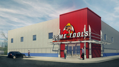 Rendering of Acme Tools' new store in Williston, N.D.  (PRNewsFoto/Acme Tools)