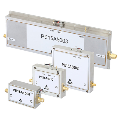 L and S Band High Gain Amplifiers Covering 1.2 - 1.4 GHz and 3.1 - 3.5 GHz (PRNewsFoto/Pasternack Enterprises, Inc.)