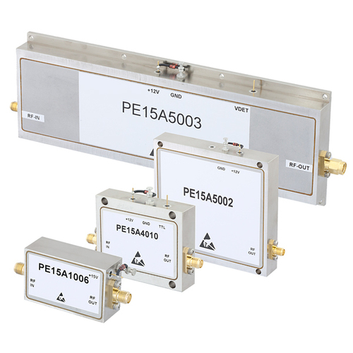 L and S Band High Gain Amplifiers Covering 1.2 - 1.4 GHz and 3.1 - 3.5 GHz (PRNewsFoto/Pasternack Enterprises, ...