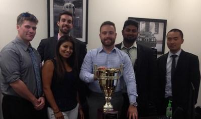 Richard Allen, Inc. Earns Sales Trophy for Second Quarter Performance