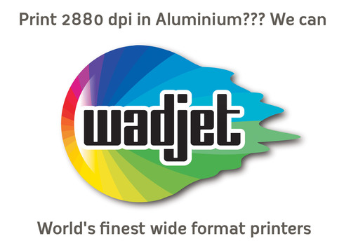 World's finest wide format printers. (PRNewsFoto/Wadjet AG)