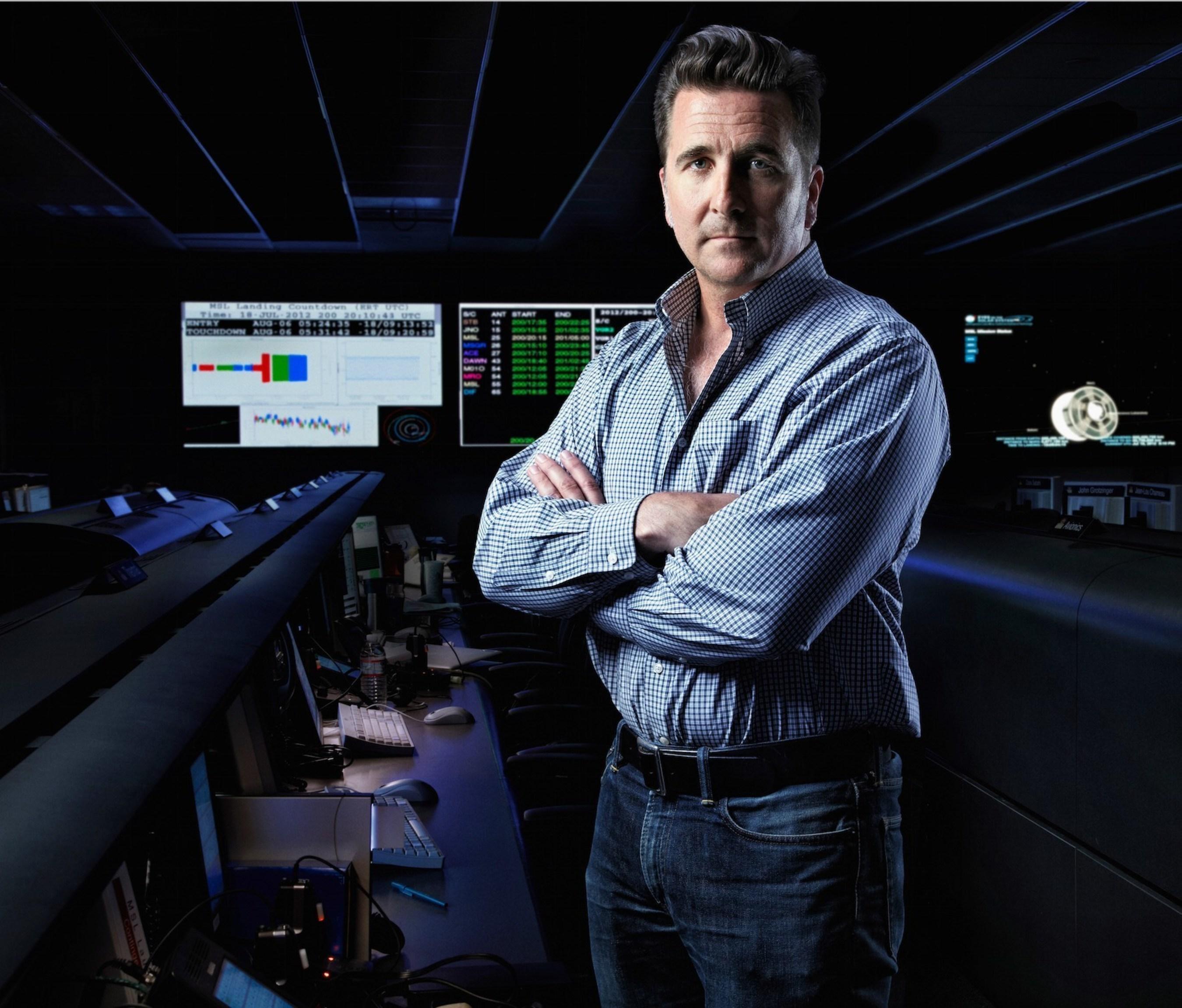 Adam Steltzner, Team Leader & Chief Engineer EDL, NASA Mars Rover Curiosity