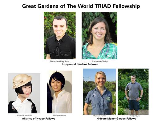 The Great Gardens of The World TRIAD Fellowship. (PRNewsFoto/Longwood Gardens)