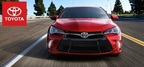 The 2015 Toyota Camry is slated to arrive to Toyota of Naperville this winter. In the mean time customers are invited to look at the affordable lease specials. (PRNewsFoto/Toyota of Naperville)