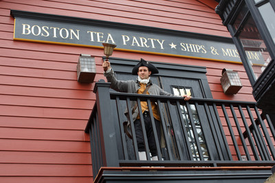 Boston Tea Party Ships & Museum wins #1 'Best Patriotic Attraction' in USA TODAY's 10Best Readers' Choice 2016 Travel Award Contest.