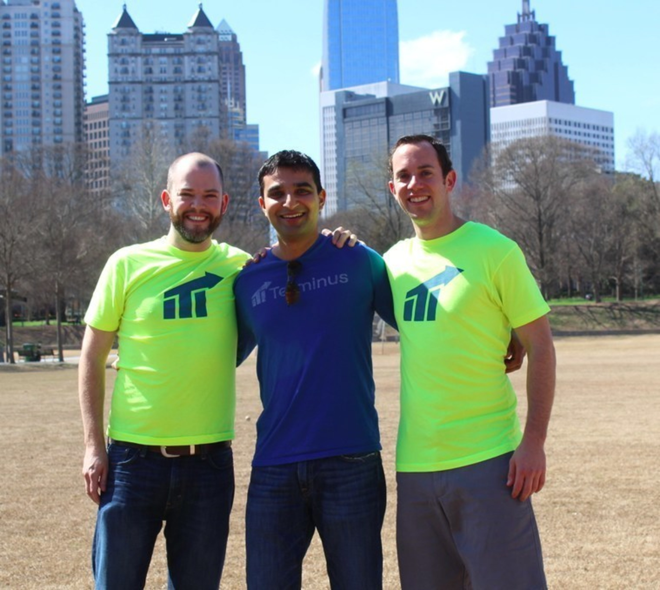 Terminus co-founders Eric Vass (CTO), Sangram Vajre (CMO), and Eric Spett (CEO).