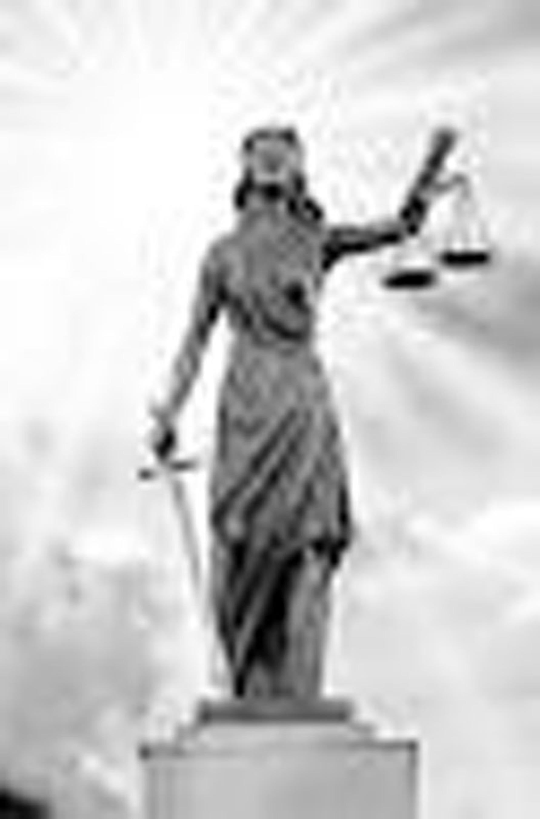 Lady Justice.  (PRNewsFoto/US Drug Watchdog)