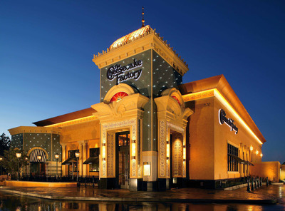 Michigan's First The Cheesecake Factory opening in late 2013 at Twelve Oaks Mall.  (PRNewsFoto/Taubman Centers, Inc.)