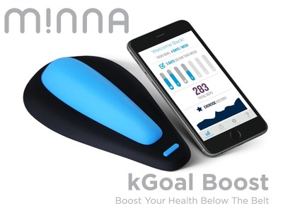 Minna Life launches kickstarter campaign to bring kGoal Boost to men - a smart Kegel training system to boost your health below the belt.