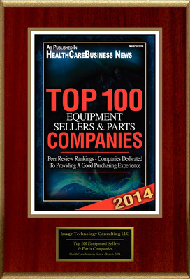 "Image Technology Consulting LLC Selected For ""Top 100 Equipment Sellers & Parts Companies""."