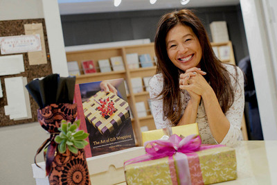 Wanda Wen, creative force and founder of Soolip, the Los Angeles bastion of luxury paper goods and gifts.  (PRNewsFoto/Soolip)