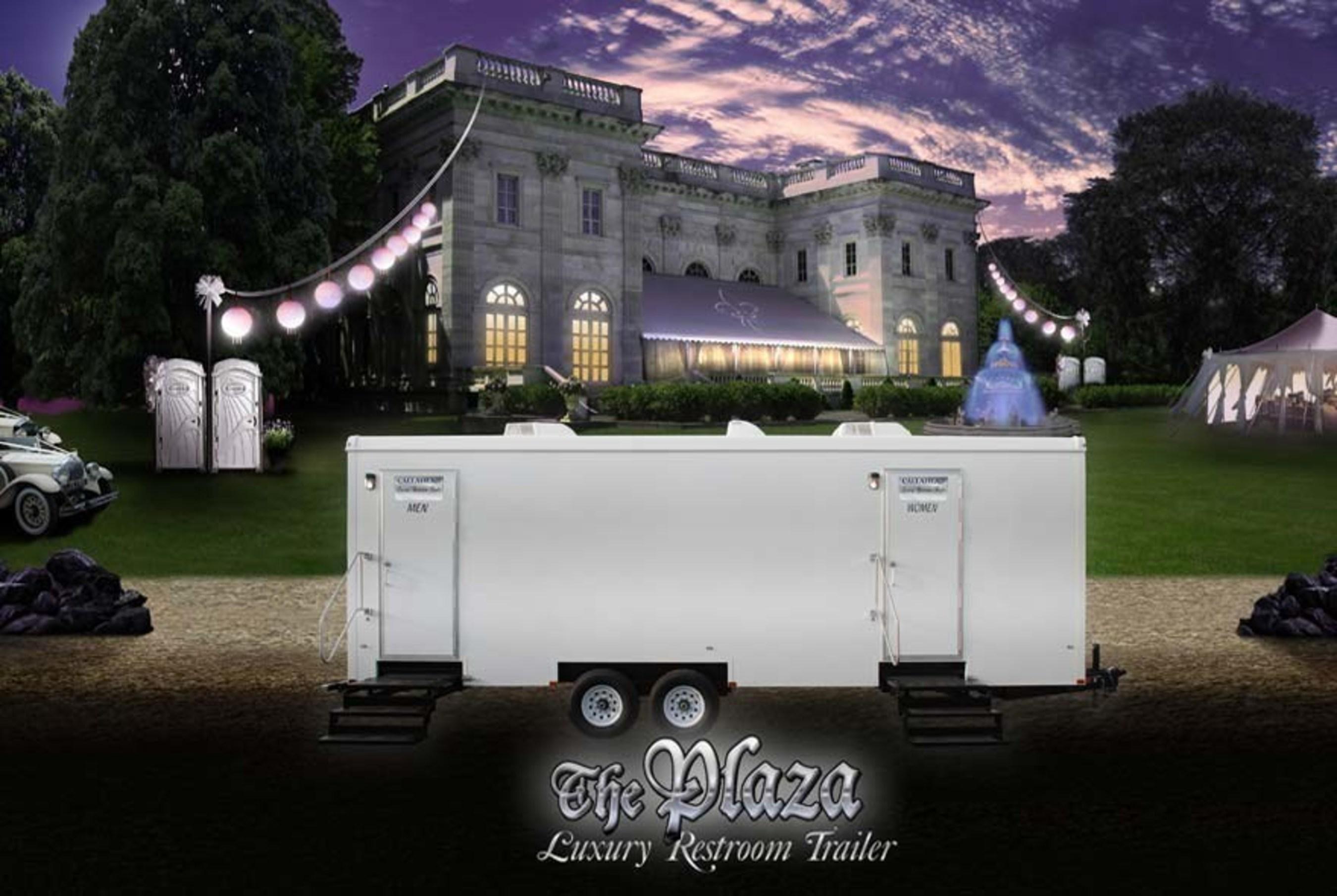 The Plaza Luxury Restroom Trailer