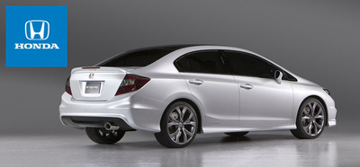 The 2013 Honda Civic was able to achieve a highway fuel economy rating of 39 mpg.  (PRNewsFoto/Benson Honda)