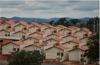 Affordable Housing Brazil Built By Bille/Crinale.  (PRNewsFoto/Bamboo Finance)