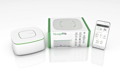 Nuvap N1, the first device in the world focused on monitoring dangerous pollution sources at both home and workplace (PRNewsFoto/Nuvap) (PRNewsFoto/Nuvap)