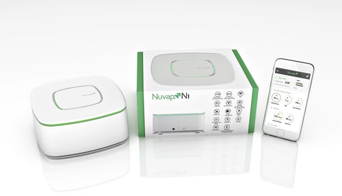 Nuvap N1, the first device in the world focused on monitoring dangerous pollution sources at both home and ...