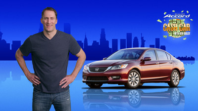 """Honda Accord """"Cash Car"""" Hits Hollywood & Highland in Los Angeles this Weekend, Hosted by Ben Bailey of """"Cash Cab"""""""