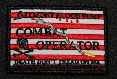 Patch designed by medic to wear on scrubs (PRNewsFoto/Belmont Instrument Corporation)