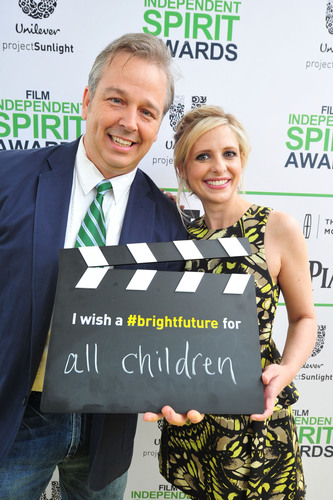 SANTA MONICA, CA - MARCH 01: Filmmaker and Independent Spirit Awards Bright Future Award winner Patrick Creadon  ...