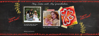 Design your own personalized scrapbook page for a chance to win great prizes as part of the Kay Loves Family sweepstakes