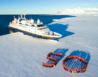 Lindblad Expeditions' guests in Antarctica this week honor Lars-Eric's pioneering vision with a special 50th on the ice.