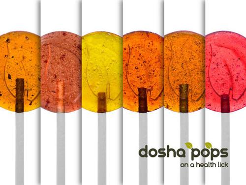 Dosha Pops - Ayurvedic Lollipops. (PRNewsFoto/Dosha Pops) (PRNewsFoto/DOSHA POPS)
