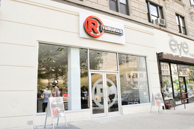 The new RadioShack concept store at 2268 Broadway in New York showcases the retailer's new branding, as well as numerous innovations that enable shoppers to easily find the products they need.  (PRNewsFoto/RadioShack Corporation)