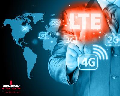 Broadcom's turnkey LTE platform targets growing sub $300 smartphone market.  (PRNewsFoto/Broadcom Corporation)