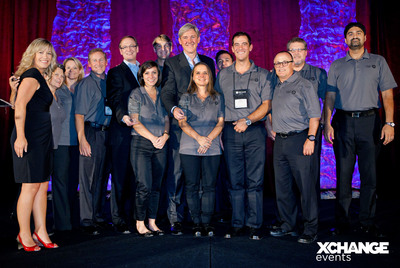 Congratulations Midsize Enterprise Summit West 2012 XCellence Award Winners!.  (PRNewsFoto/XChange Events)