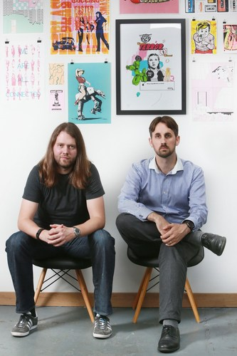 Left to Right are John Peebles, CEO and Andrew Williams, CTO of Administrate (PRNewsFoto/Administrate)
