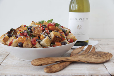 Photo courtesy of Edna Valley Vineyard Grilled Panzanella Salad