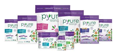 Pyure Organic Stevia Product Line