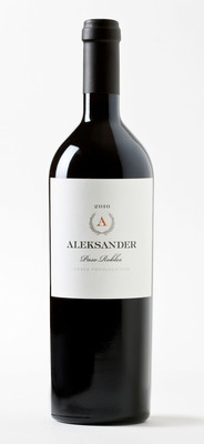 Gold Medal winning Aleksander Red Wine from S&G Estate Winery in Paso Robles, CA.  (PRNewsFoto/Goran Bjekovic)