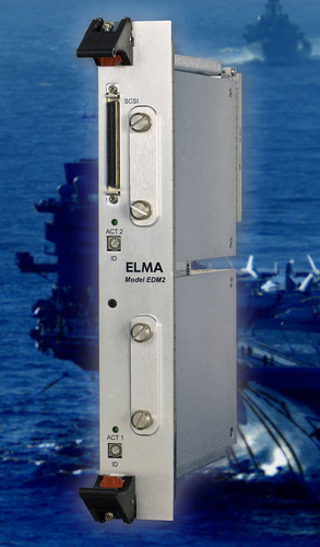 New SATA-based VME Disk Module from Elma Easily Upgrades Legacy SCSI Systems