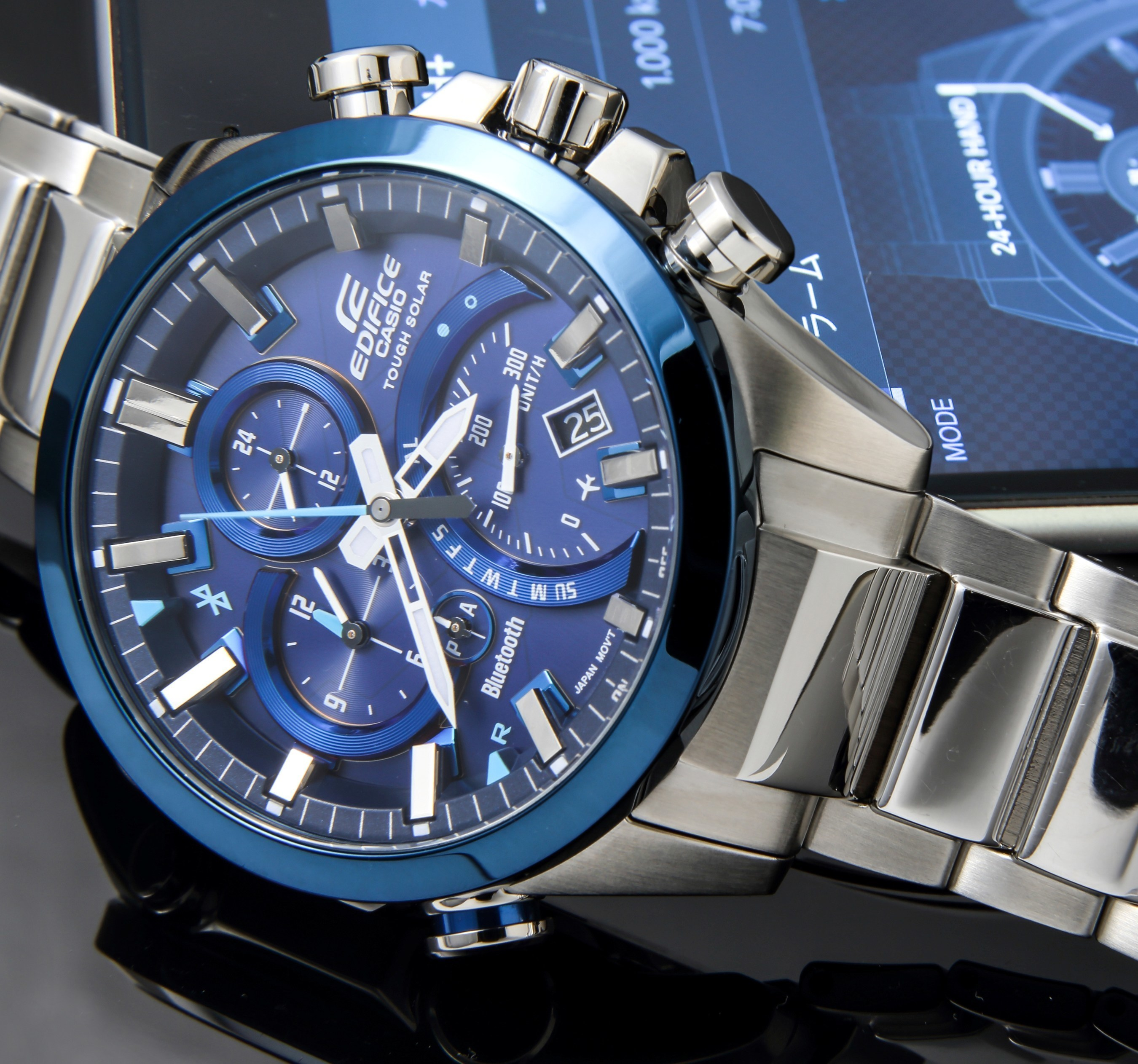 Casio Introduces Latest EDIFICE Timepiece With Smart Phone Link Technology