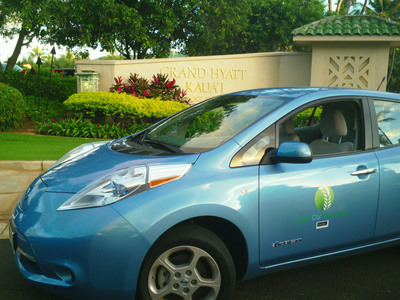GreenCar and Roberts Hawaii Partner to Take Cars Off the Road.  (PRNewsFoto/GreenCar)