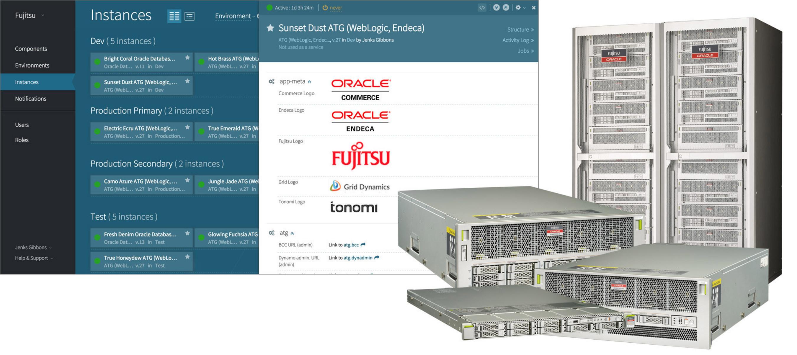 Grid Dynamics and Fujitsu Deliver Oracle Commerce Platform on Fujitsu M10 Servers as a