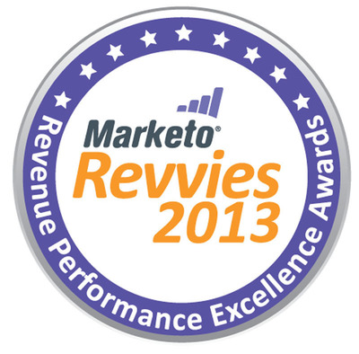 "Marketo Announces 2013 ""Revvie"" Award Finalists.  (PRNewsFoto/Marketo)"