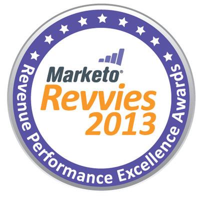 "Marketo Announces 2013 ""Revvie"" Award Finalists.  (PRNewsFoto/Marketo)"