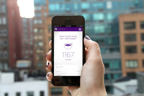 The New Noom Weight Mobile App For Weight Loss available for iPhone. (PRNewsFoto/Noom Inc.) (PRNewsFoto/NOOM ...
