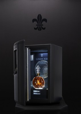 Safebox LOUISXIII 100 YEARS (PRNewsFoto/LOUIS XIII COGNAC)