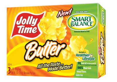 Jolly Time 174 Pop Corn Introduces Microwave Popcorn Made