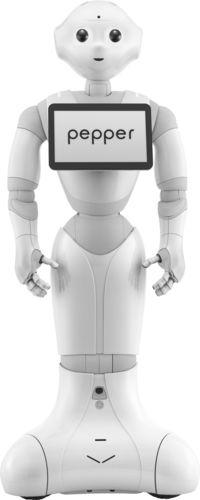 Pepper (PRNewsFoto/Aldebaran Robotics and SoftBank)