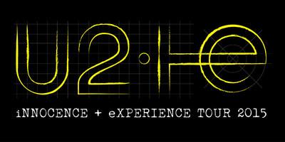 U2 Announce iNNOCENCE eXPERIENCE Tour 2015