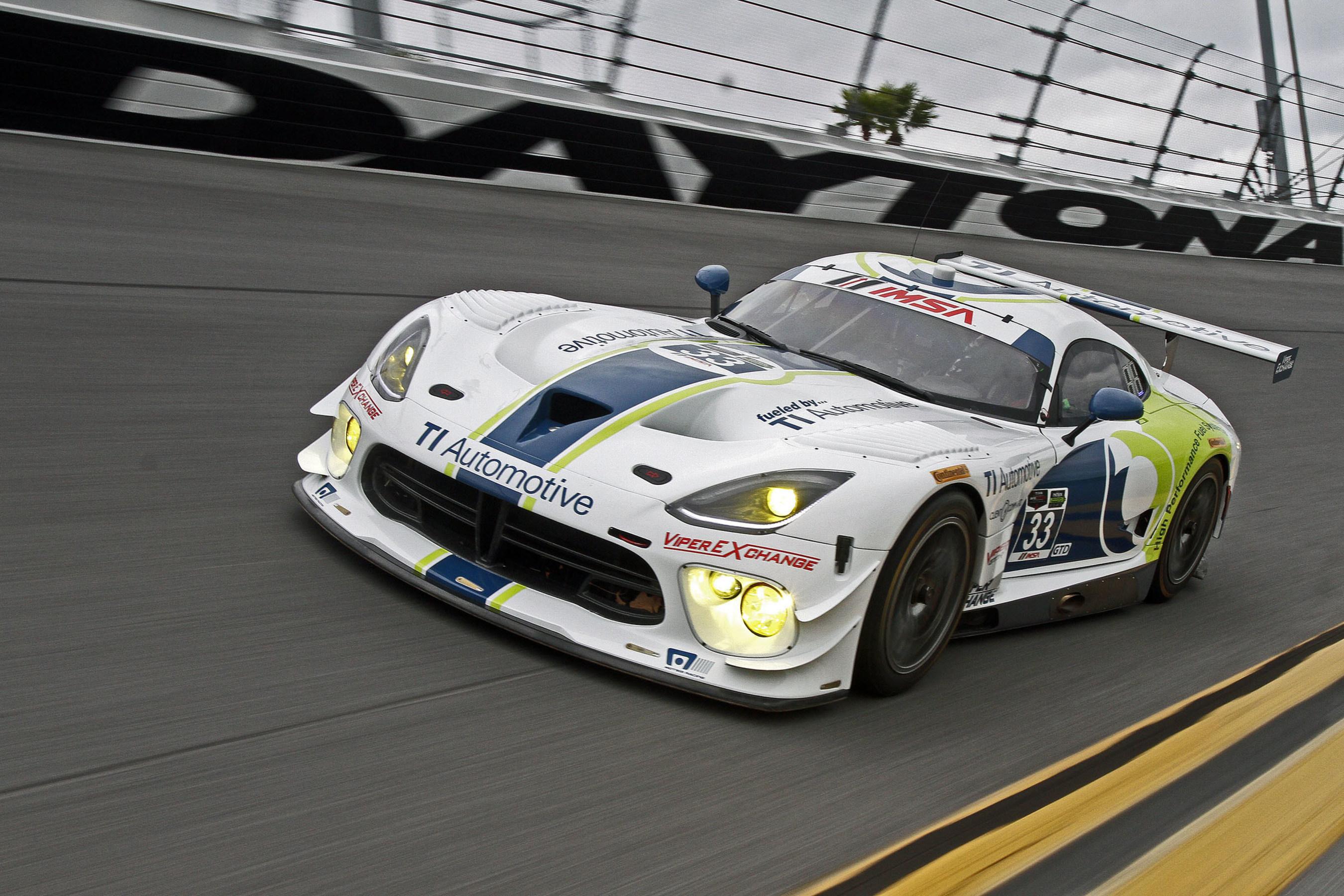 TI Automotive To Sponsor Dodge Viper GT3R Race Cars In 2015 TUDOR – Race Car Sponsorship Contract