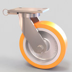 Online caster design tool produces 3D CAD caster drawings. Caster Concepts provides modeling and downloading of over 300,000 heavy duty casters and industrial wheels using the Custom Configurator. Product engineers and designers now have a customizable plug and play option for their exact needs 24/7. (PRNewsFoto/Caster Concepts)