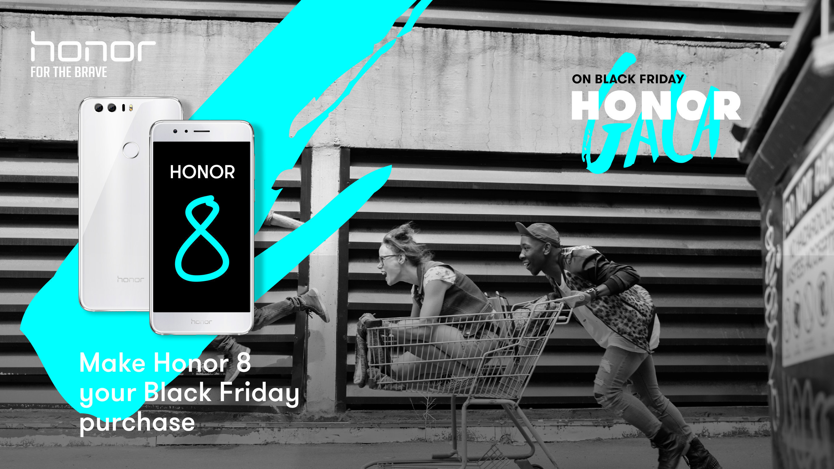 Make Honor 8 your purchase this Black Friday.