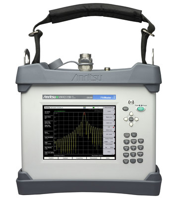 Anritsu Introduces First Field Analyzer With Integrated PIM and Line Sweep Testing Capability (PRNewsFoto/Anritsu Company)