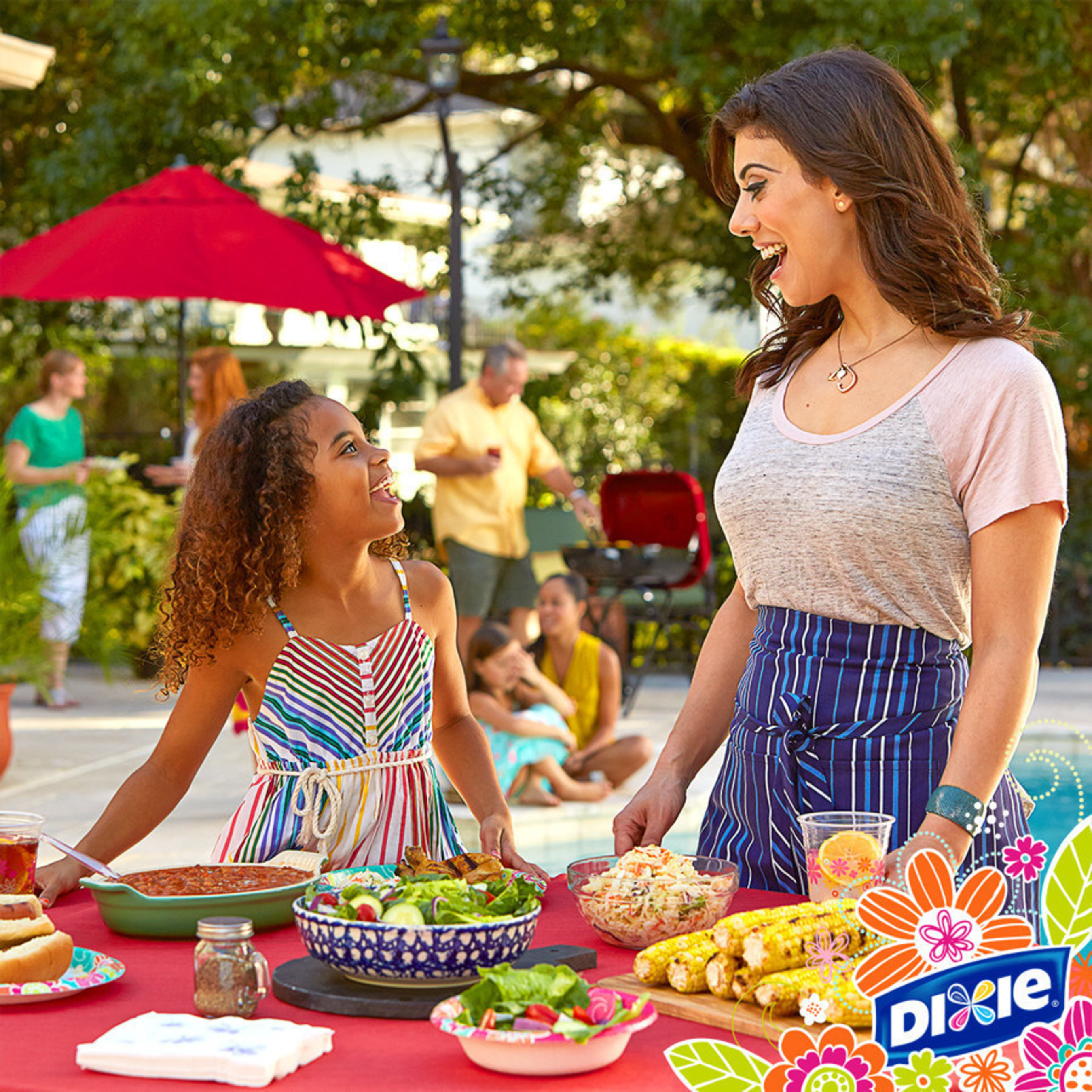 Dixie Savor Summer Flavor Sweepstakes with Food Network celebrity chef Claire Robinson